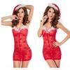 Women Ladies Christmas Costume Sexy Red Fancy Bra Underwear