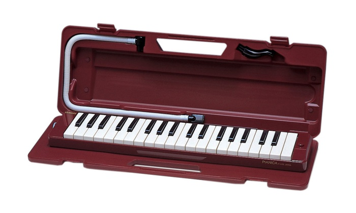 Yamaha p37d 37 note pianica keyboard wind instrument groupon for Yamaha 3 octave keyboard