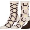 Sakkas Bahar Womens Cute Colorful Design Knee High Socks Asst 3-packs
