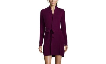 INDULGE CASHMERE Short Cashmere Robe