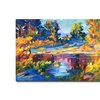 David Lloyd Glover Reflections on a Quiet Lake Canvas Print