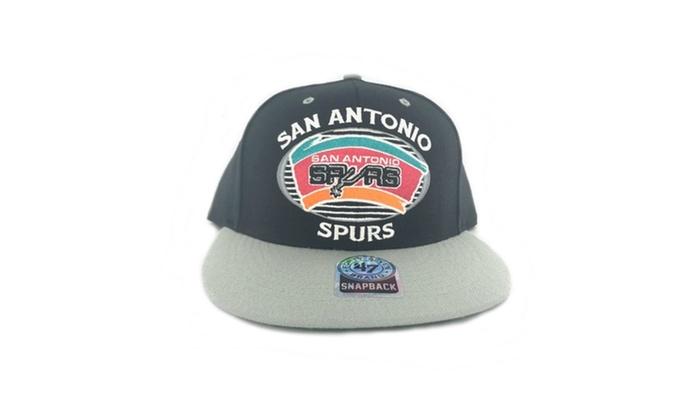 great fit 037a4 83f42 San Antonio Spurs Snapback Adjustable Cap  Hat   Groupon