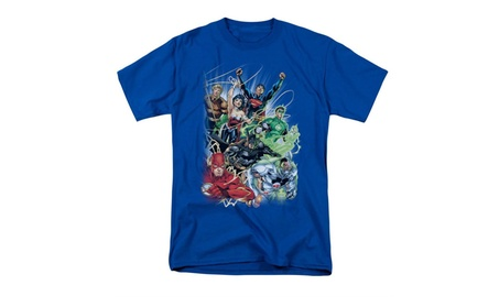Dc Comics T-Shirt Justice League New 52 #1 5d6f781e-12a0-4f30-9ccf-26f53dbefeb5