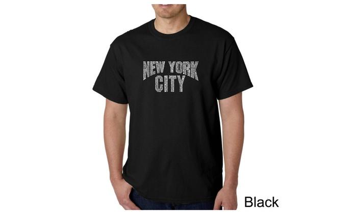Men's T-shirt - NYC NEIGHBORHOODS