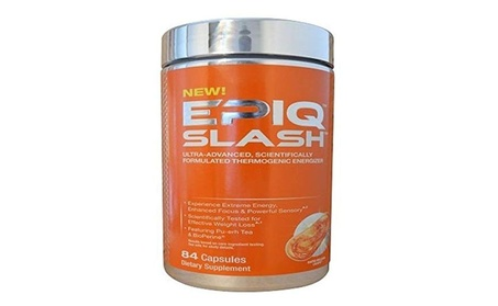 Slash Thermogenic Fat Burner, 84 Capsules