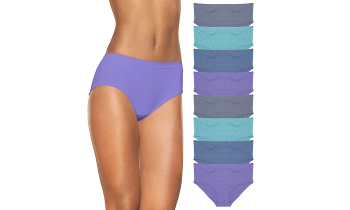7ef37ca8002b Fruit of the Loom Women's Low-Rise Briefs (8-Pack) | Groupon