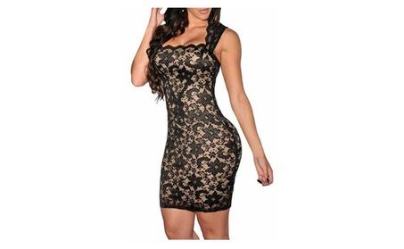 Women Vintage Clubwear Bodycon Lace Party Dress e6eaaf30-c9a3-4eac-8968-5afead29dd2f