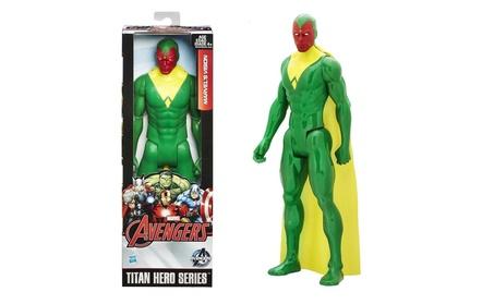 MarvelAvengers Titan Hero Series Marvel's Vision 12-Inch Action Figure 82c0454e-7ca4-4c31-8285-0ca2cf009fcd