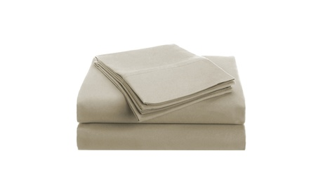 Superior 1500 Series 100% brushed Microfiber Shades of Brown Solid Sheet Set ab7aa971-e94f-4675-939e-bf49604833d7