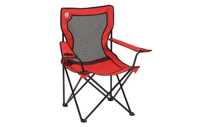 Coleman Chair Broadband Mesh Quad 2000009889 Groupon