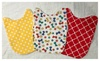 Bibby Switch Boutique: Buttons & Bowties Switchable Bib Set with included onesie