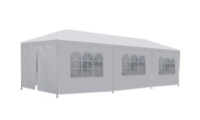 White Outdoor Gazebo Canopy Tent White Outdoor Gazebo Canopy Tent ...