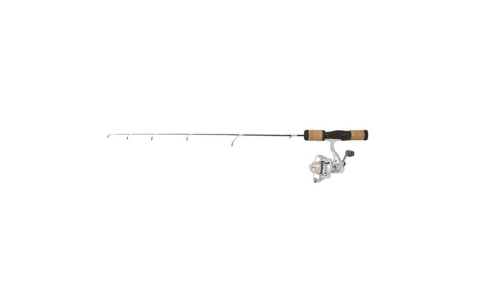 Frabill fin s pro 26 light ice fishing rod and reel combo for Ice fishing deals