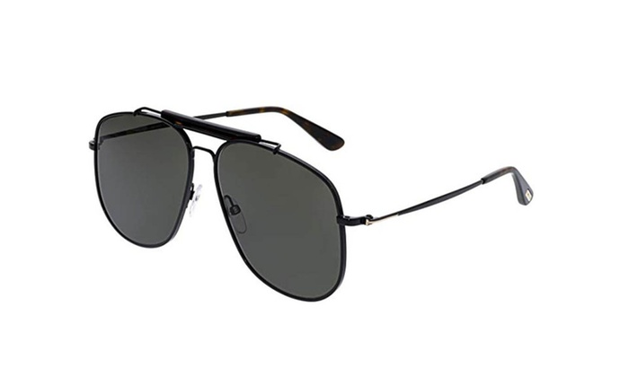 New Authentic Tom Ford Sunglasses FT TF 557 01A Connor-02 Black ...