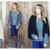 Open-Front Textured Cardigan - 5 Colors