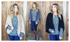 Riah Fashion: Open-Front Textured Cardigan - 5 Colors