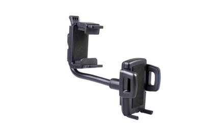 Practicle Useful Mount Holder Adjustable Car Rear View Mirror Cradle for Iphone and Samsung Galaxy S4 I9500