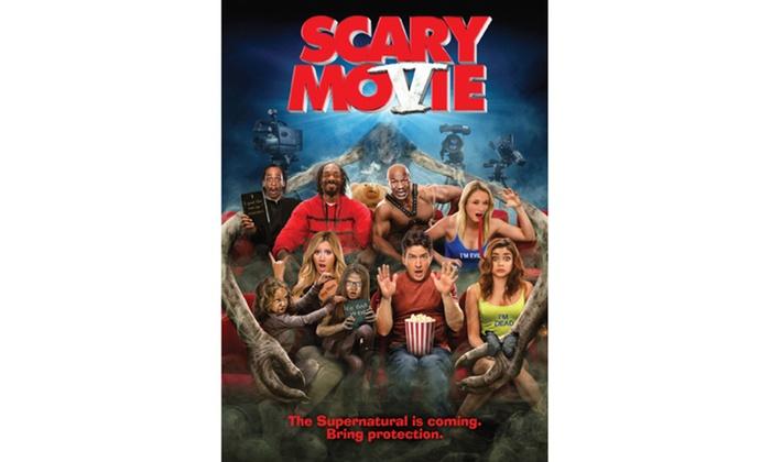 Scary Movie 5 Dvd Pg 13 Groupon