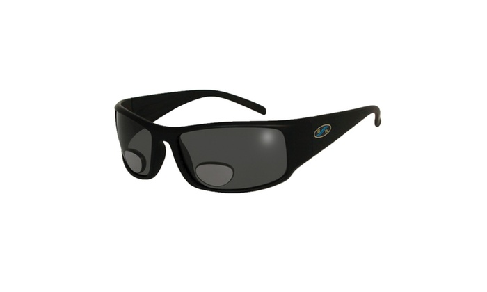 BlueWater Frame Polarized Grey Lens Bifocals 2.5 Sunglasses