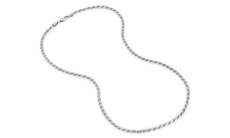 Sterling Silver Rope 080 Gauge Chain ba5e86d4-12f1-48f4-b5b7-3d0f36370400