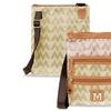 Zodaca Women Shoulder Bag Satchel Tote Bags Crossbody Tan