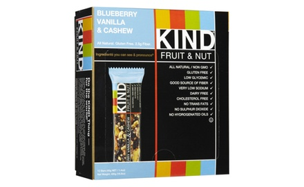 KIND Fruit & Nut, Blueberry Vanilla & Cashew, 1.4 Ounce, (Pack of 12)