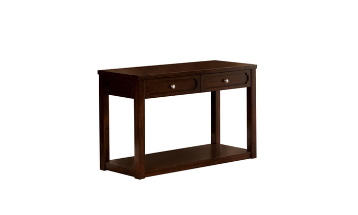 Foyer Table Macy S : Up to off on pieter drawer brown cherry