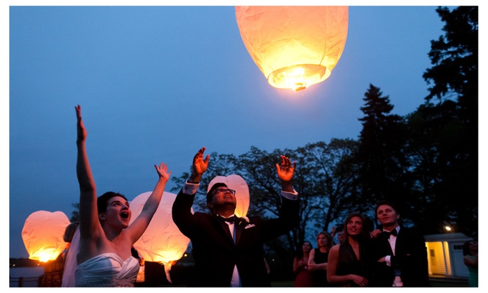 Chinese Sky Lantern - Trance Balloons - 50 Pack