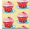 Wendra Cherry Cupcakes Canvas Print