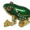 Limited Quantity Clearance Frog with Crystals Keepsake Box