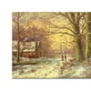 John Grimshaw South Side of Rydal Water Canvas Print
