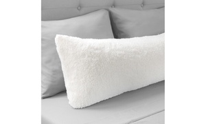 Warm Body Pillow Cover Soft Comfy Pillow Case Zippered Washable 52 x 18 inches W