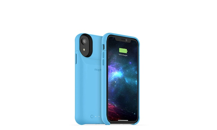 Made for Apple iPhone XR mophie Juice Pack Access 2,000mAh - Blue Ultra-Slim Wireless Battery Case