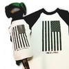American Pawz-Doggy Baseball Shirt designed by House of Pawz