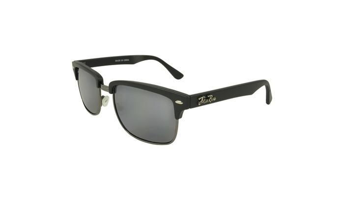 JOLIE ROSE Eyewear 'Dirk' Clubmaster Square Fashion Retro Sunglasses