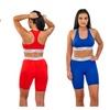 Body Xtreme Fitness Ladies Sports Bra & Shorts, Push Up Bra, Yoga Pant