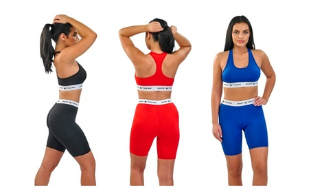 Body Xtreme Fitness Ladies Sports Bra & Shorts, Push Up Bra, Yoga Pant 5ca7d5ec-5654-4e0a-9fed-6cfb08a55449