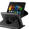 "Insten For Amazon Kindle Fire HDX 7"" 360 Swivel Leather Case, Black"