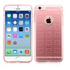 Insten Gel TPU Spots Case for iPhone 6 6S Glassy Clear Rose Gold