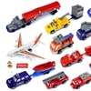 Super City Airport Children's Kid's Toy Vehicle Playset w/ Variety of Vehicles