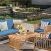 Cape Town Outdoor Patio Sofa Set (4-Piece)