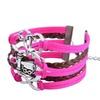 Zodaca Leather Cute Infinity Charm Bracelet JewelrySilver lots Style19