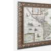 Henricus Hondius 'Map of the Americas 1631' Ornate Framed Art