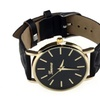 Young Sport Casual Leather Quartz Wristwatch For Women