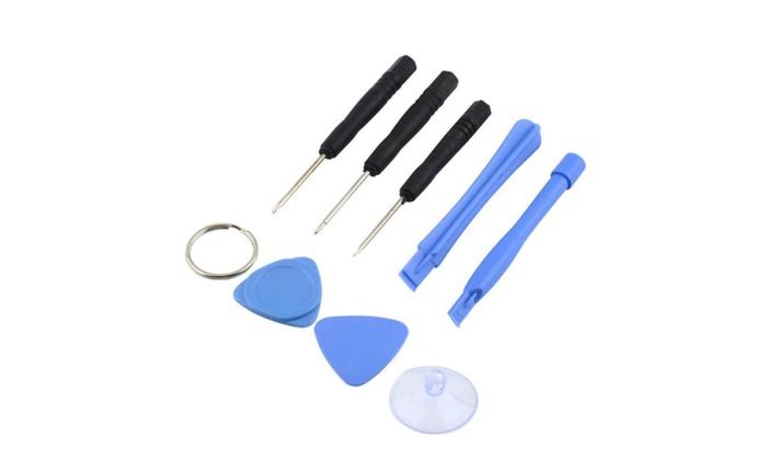 iphone repair kit 9pc set groupon. Black Bedroom Furniture Sets. Home Design Ideas