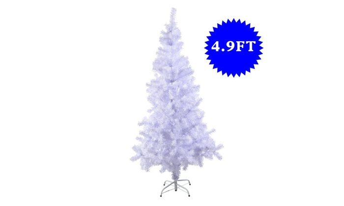 5 ft artificial christmas tree with stand