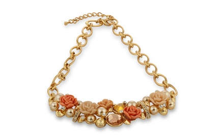 PARADISE OF LOVE STATEMENT NECKLACE