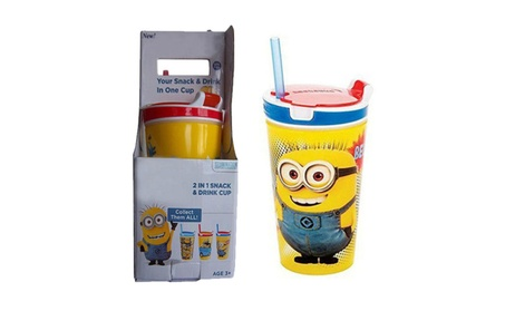2 in 1 Snack & Drink Cup Stays Perfectly Sealed To Prevent Spills 8acb3d0c-5017-4a3b-8fe2-d45da5bdad71