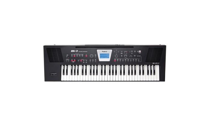 Roland BK-3 Backing Keyboard - Black