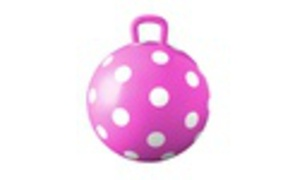 Hedstrom Pink Polka Dot Hopper Ball